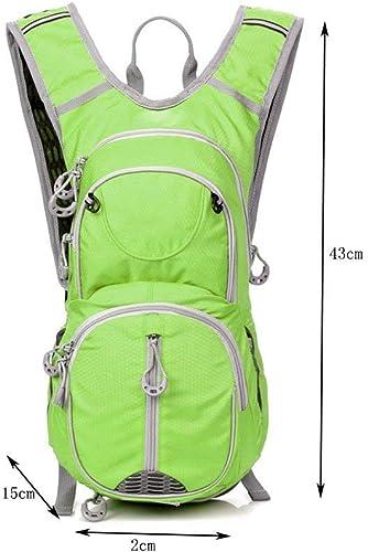 MDD Rucksack Outdoor Herren und Damen fürradtasche Leicht und bequem Sch im Aussehen Wild,Grün