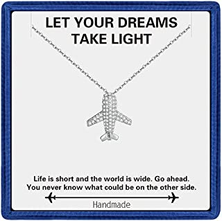 Best airplane necklace meaning Reviews