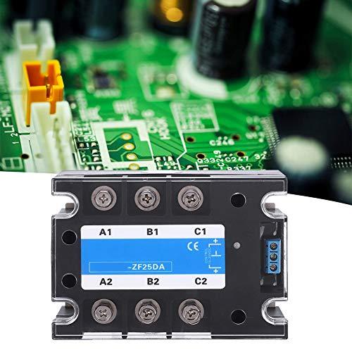 Halbleiterrelais, SSR Halbleiter, 2,95 x 4,13 x 1,5 Zoll DC-AC 3000 VAC Transparente Schutzhülle für Signallicht Steuern Sie den Netzschalter