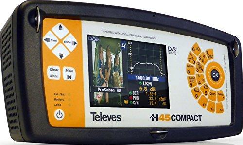 Televes 599022 - Medidor campo h45 compact full hd+circuito impreso+ fibra optica