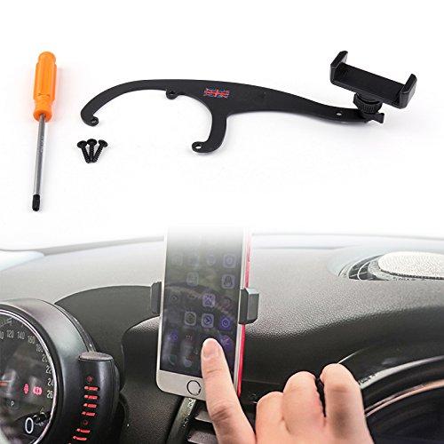 Rot 360°Drehung Auto Halter Lenker Halterung Handy Für Mini Cooper R55 R56