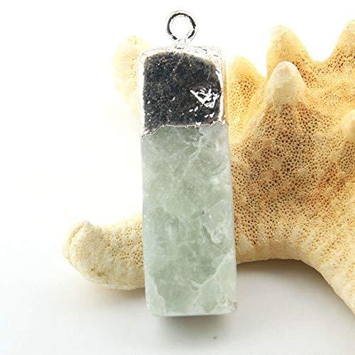 Suave Cristal, collar pendiente multicolor de la piedra natural, collar de cristal de piedra curativo del collar de DIY Energía for los regalos de la decoración del hogar hechos a mano Colecci