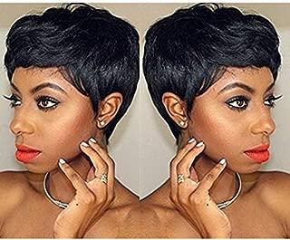 Short Cut Wigs for Black Women,Gluless Pixie cut wigs, Boy Cut Wig Summer Style, Human Hair Shrot Cut Wigs (4