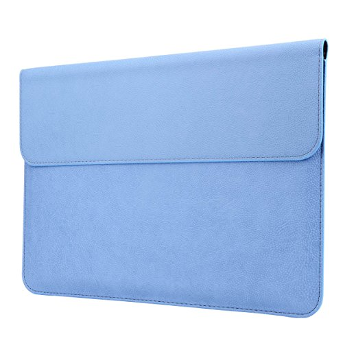 MEGOO Leather Cover for Microsoft Surface pro 3/pro 4/pro 5/pro 6/Pro 7 Case 12.3 Inch - Blue Illinois