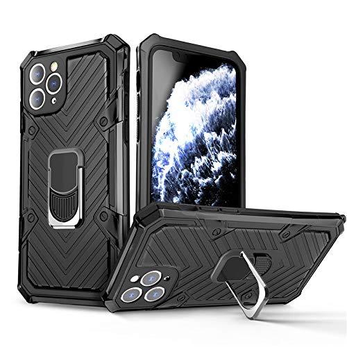 RZL Teléfono móvil Fundas Para iPhone Pro Max 12 12 MINI, la cubierta protectora de la armadura a prueba de golpes parachoques teléfono pata de cabra caso del anillo del sostenedor del soporte Para el