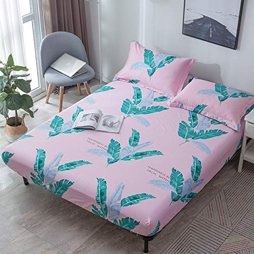 LUOYLYM Neue Einfarbige Wasserdichte Bett Trampolin Abdeckung Matratze Anti-Rutsch-Schutzhülle Y2Sheets150cm*220cm+30cm