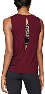 Mippo Workout Tops Open Back Shirts Muscle Yoga Tennis Exercise Tanks for Women