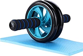 POPOTI Abdominal Wheel AB Wheel Rollers Exercise Wheels Non- Slip Handles Fitness Workout Home Gym Exercise Equipment to B...