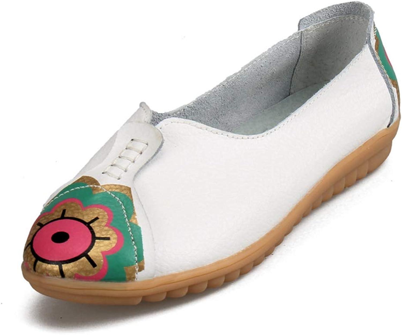 August Jim Women Flats shoes,Low Heel Flexible Peas Soft Leisure Flats shoes