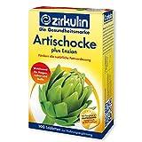 Zirkulin Artischocke plus Enzian, Nahrungsergänzungsmittel zur Förderung der natürlichen Verdauung von schweren und fettreichen Speisen, wohltuend für Magen, Leber und Galle, 100 Magentabletten
