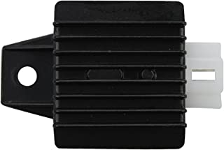 GOOFIT 4 Pin Voltage Regulator Rectifier for GY6 50cc 60cc 80cc 125cc 150cc Chinese Moped Scooter ATV