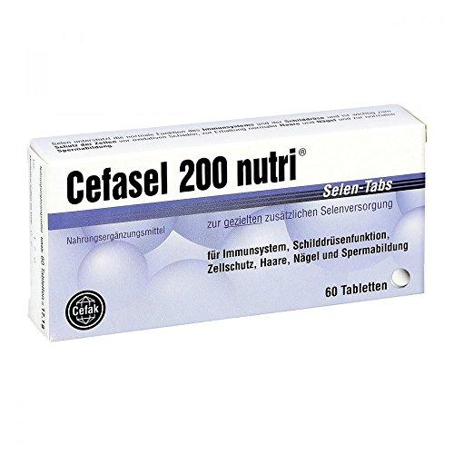 Cefasel 200 nutri Selen-Tabs, 60 St. Tabletten