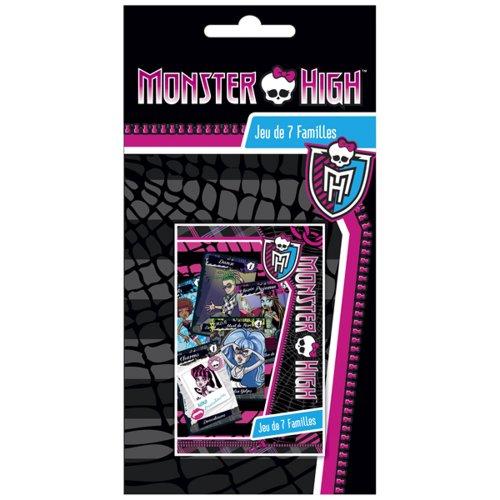 France Cartes - 404537 - Jeu de Cartes - Jeu 7 Famille - Monster High Blister