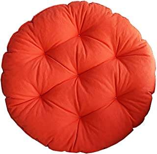 Ssflithuang Comfortable and Breathable Cotton Old Cuban Japanese Mattresses Cushions Cotton Linen Retro Fashion Restaurant Yoga Club Worship Cushion (Color : G, Size : Small)