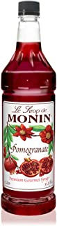 Monin - Pomegranate Syrup, Tart and Sweet, Great for Cocktails and Teas, Gluten-Free, Vegan, Non-GMO (33.8 Fl Oz (Pack of 1))