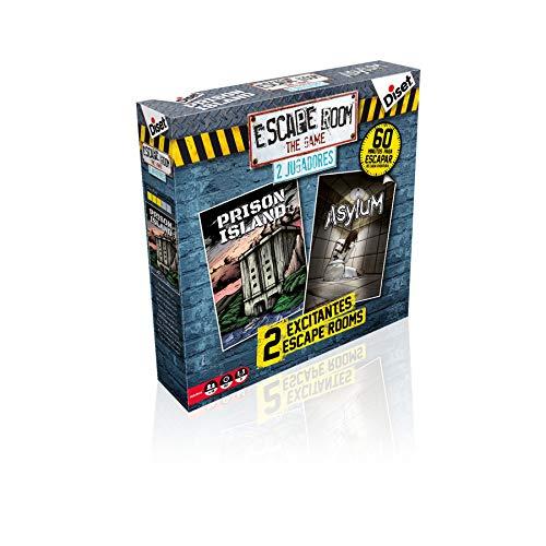 Diset- Escape Room Dos Jugadores - Juego de mesa adulto a partir de 16 años
