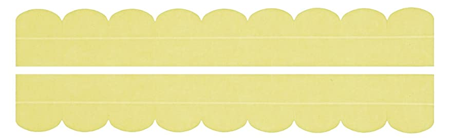 経済的否認する反逆サンコー ズレない汚れ防止テープ おくだけ吸着 便器すきまテープ イエロー OK-95
