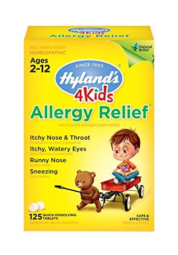 Childrens Allergy Medicine by Hyland's 4 Kids Allergy Relief...