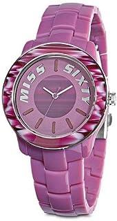 Miss Sixty Reloj analogico para Mujer de Cuarzo con Correa en Resina R0753122502