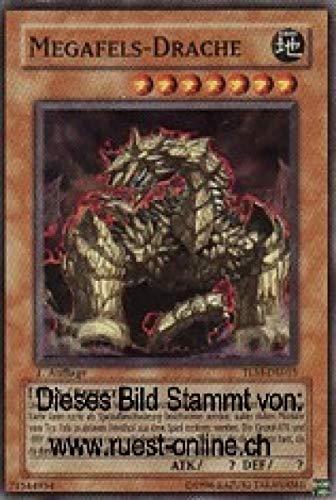 Konami TLM-DE015 Megafels-Drache (SUPER Rare) 1. Auflage