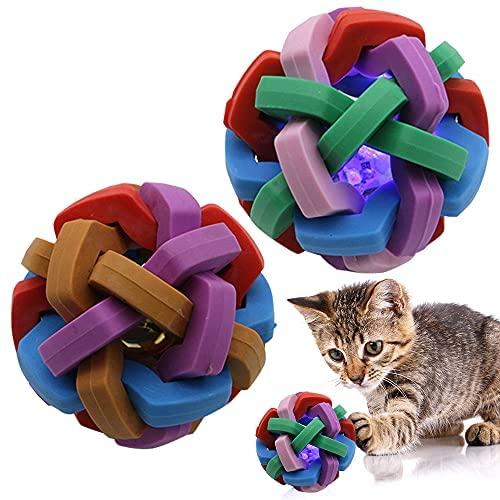 Katzenspielzeug Katzenball Katzenball Beißspielzeug Beliebte Übung Unzureichende Beseitigung Glocke Ball Glitzer Ball Set