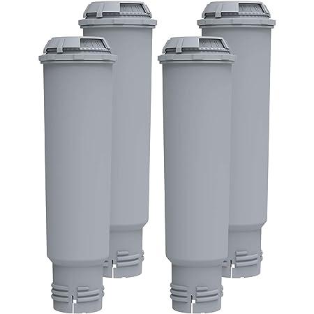Lot de 4 filtres à eau de rechange Krups F088 Claris Melitta Pro Aqua - Cartouche filtrante compatible avec Siemens, Bosch, Nivona, Gaggenau, AEG, Neff - IT'S Pure Expert