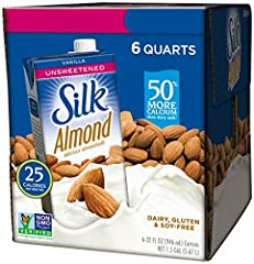 RICH BUT : No need to be afraid of the big bad sweetness craving anymore. Silk Vanilla Almondmilk will save you with its smooth rich vanilla goodness & more calcium than dairy milk. Silk Pure Almondmilk is the smart way to indulge your sweet tooth. D...