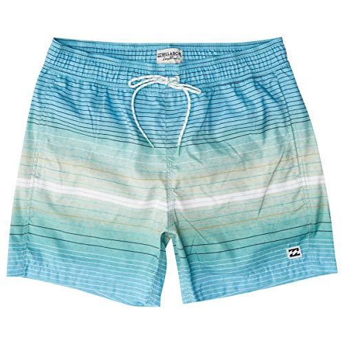 BILLABONG All Day Stripes LB Bañador Verde (Mint 539) X-Large (Tamaño del Fabricante:XL) para Hombre