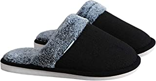 Living Slippers, Indoor and outdoor couple slippers, Men's and Women's PVC non-slip Slippers,Black,XXL