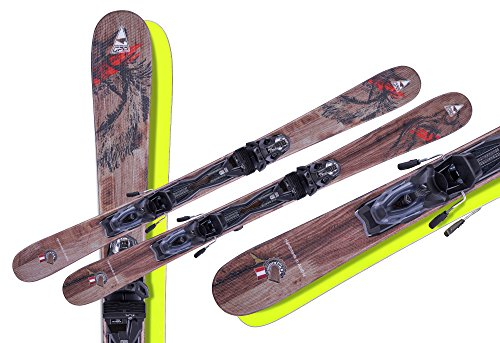 Fun Carver Wolf 125 cm+Tyrolia/Head Power 11 MBS Sicherheitsbindung 2018/2019