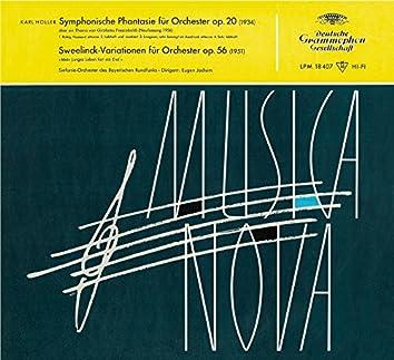 Höller: Symphonic Fantasy; Sweelinck Variations