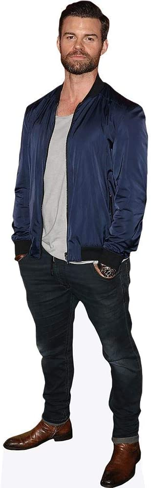 Daniel Gillies Mini Cutout Blue Jacket