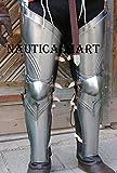 NauticalMart Medieval Knight Steel Full Leg Armor Halloween Costume