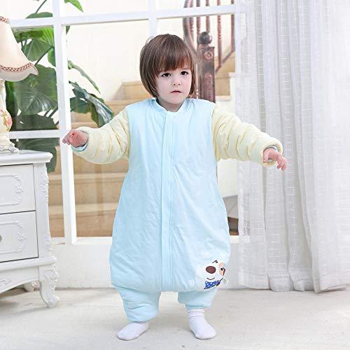 Baby Kid peuter fleece slaapzak, kinderen katoenen quilt-puppy blue_100 yards 2-3 jaar oud, baby inbakeren deken wandelwagen wrap