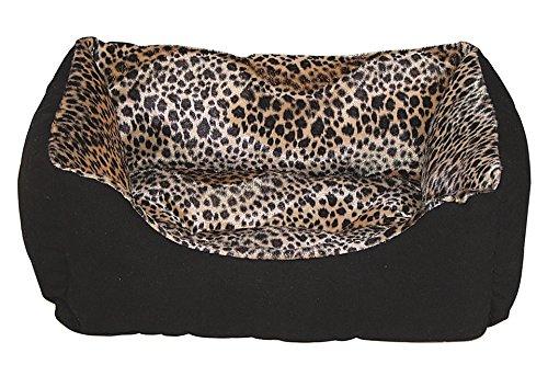 HEIM Katzenbett / Hundebett - Heimtierbett »Wildlife« 90 cm x 20 cm x 70 cm, leoprint