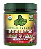 Organic Muscle Superfood Reds | USDA Certified Organic...