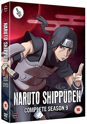 Naruto Shippuden Complete Series 9 Box Set (Episodes 402-458) [DVD] [Reino Unido]