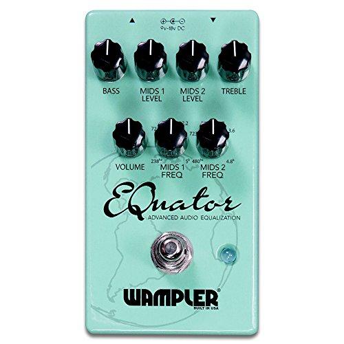 Wampler EQuator Advanced Audio Equalizer Guitar Effects Pedal