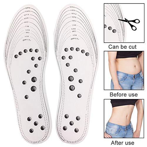 Symeas Acupressure Massage Magnétique Thérapie des Pieds Réflexologie Soulagement de la Douleur - Massage Santé Magnétique