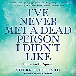 I've Never Met a Dead Person I Didn't Like audiobook cover art