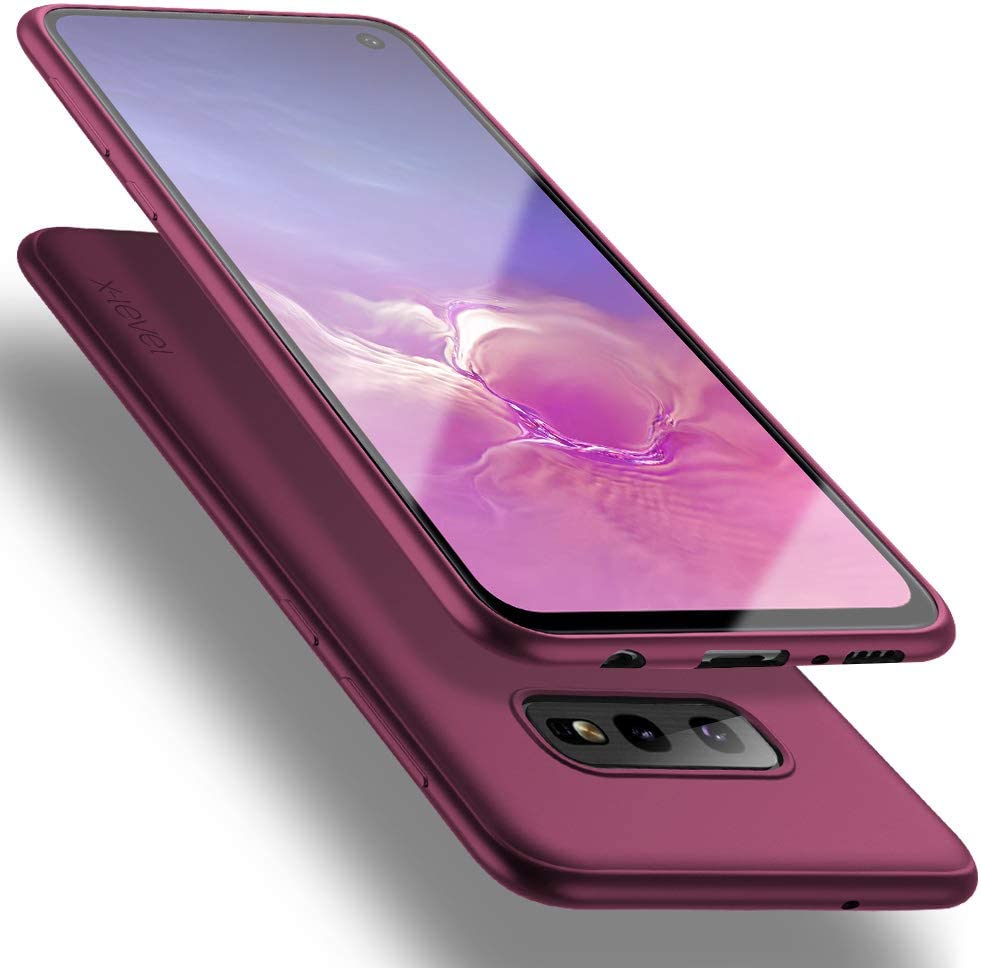 Samsung Galaxy S10e SALENEW very popular Case X-Level Slim Thin Online limited product S1 TPU Soft Fit Ultra