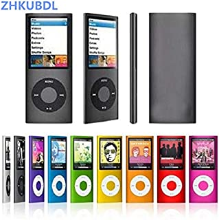 YZT ZHKUBDL 1.8 inch mp3 Player 16GB 32GB Music Playing with fm Radio Video Player E-Book Player MP3 with Built-in Memory (Color : Purple, Memory Size : 32GB)