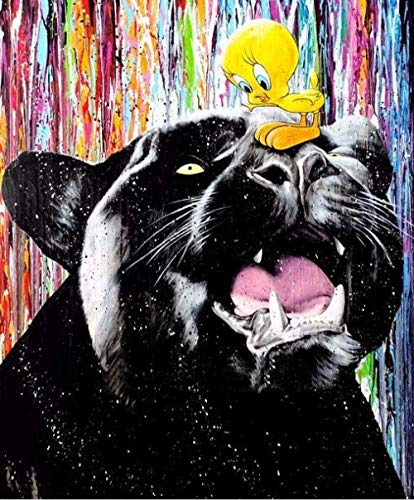 BOIPEEI 1000 Piezas Dibujo Graffiti Rompecabezas para Adultos decoración del hogar Juguetes Juegos Divertidos Gran Regalo Educativo para niños Rompecabezas de Madera