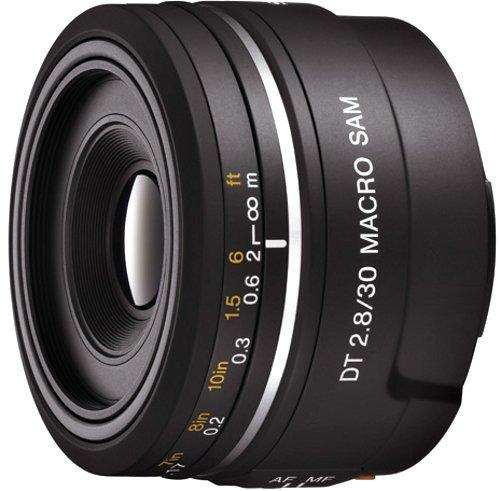 ソニー SONY 単焦点マクロレンズ DT 30mm F2.8 Macro SAM APS-C対応