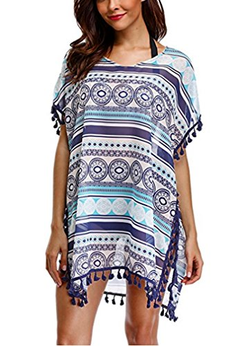 Strandponcho Strandkleider Bikini Cover Up Sexy Beach Bikini Dress Damen Bademode Boho Sommerkleid große größen Sommer Blusen Strandhemd