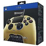 Nacon Revolution Pro Controller - Mando alámbrico, color dorado (PS4)