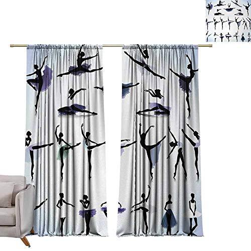 Tr.G verduisterende gordijnen staaf zak gordijn panelen voor slaapkamer & keuken kunst, Fantasy digitale verf met een vogel zwaluwen honing van bloem voorraad fractal kunstwerk, Multi kleuren