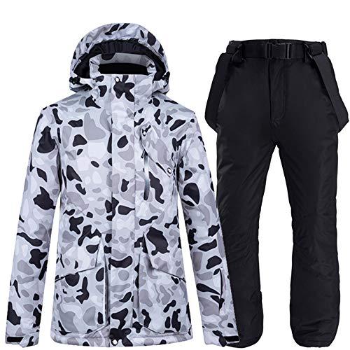 Skipak winter overall warm ski-jack + panty skibroek winddicht waterdicht warme ritssluiting snowboard outdoor