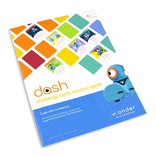 Wonder Workshop Dash Challenge Cards for Dash Robot, Various