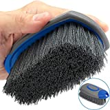 Relentless Drive The Ultimate Carpet and Upholstery Brush | Car Detailing Scrub Brush for Cleaning Interior Carpet and Upholstery | Stain Removing Automotive Detail Tool | Car Care